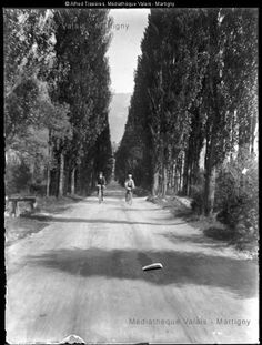 Cycliste dans la plaine, ca 1910 Country Roads, Snow, Outdoor, Photography, Outdoors, Outdoor Living, Garden, Eyes