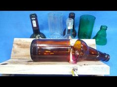 Wine bottle cutting easy cutter with perfect edges how to video recycling ideas bottles diy string . Cutting Wine Bottles, Bottles And Jars, Glass Bottles, Wine Bottle Crafts, Bottle Art, Beer Bottle, Bottle Cutter, Glass Cutter, Diy Videos