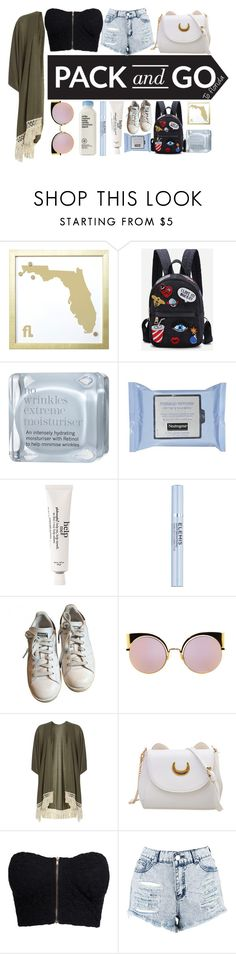 """""""pack n go"""" by dope-daisies ❤ liked on Polyvore featuring MikeyLins by Petal Lane, This Works, Neutrogena, philosophy, Elemis, adidas, Fendi, Dorothy Perkins, NLY Trend and Boohoo"""