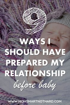 prepare you relationship before baby