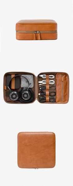 Day One Edition: All Tech Dopp Kit 2 purchases made on March 23, 2017 will include a complimentary Belt Cable by Native Union. The Tech Dopp Kit 2 is a premium leather travel zip-up organizer with des