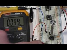 S102T surface mount 1mA current limiting diode component demo w multimet...