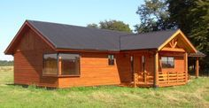 Casa Prefabricada Calén 72 mt2 - Casas Prefabricadas Ideas Para, Shed, 1, Outdoor Structures, House, Farm House, House 2, Wooden House Plans, House Siding