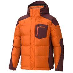 Marmot Shadow Down Jacket - 650 Fill Power (For Men) in Orange Spice/Tawny Port