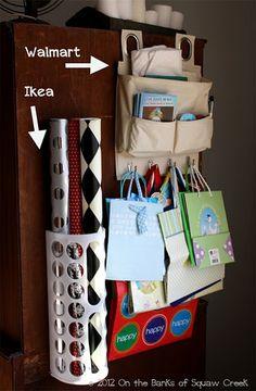 More storage ideas!  tell Mom