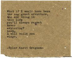 Typewriter Series #2072 by Tyler Knott Gregson