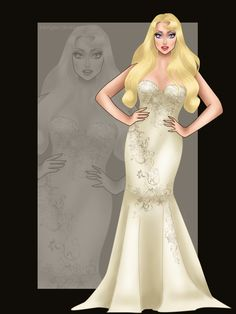 Miss Disney: Aurora with the gown of Miss Australia Universe 2011