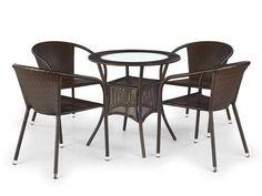 Halmar® ICenter Sheesham Wood Furniture, Outdoor Furniture Sets, Outdoor Decor, Furniture Design, Dining Chairs, Vogue, Brown, Interior, Home Decor