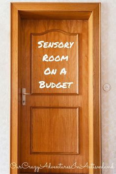 Sensory rooms can cost a ton of money. See how one mom made one for daughter with autism on a budget. (Diy Ideas On A Budget) Sensory Room Autism, Sensory Rooms, Autism Activities, Autism Resources, Sensory Play, Sensory Tubs, Tactile Activities, Sensory Motor, Occupational Therapy