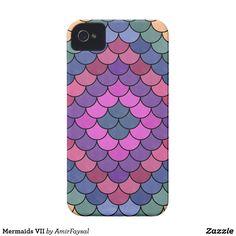 Mermaids VII Case-Mate iPhone 4 Case #S6GTP