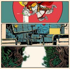 Jakub Kijuc - komiks, ilustracja: Debest of Grejtesthits 2014
