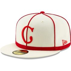 25383ad73 New Era Cincinnati Reds Tbtc Cap - White. Major League Baseball Caps ...