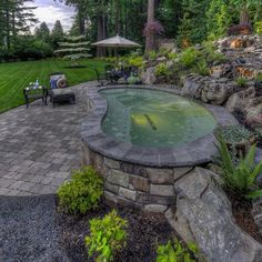 Having a pool sounds awesome especially if you are working with the best backyard pool landscaping ideas there is. How you design a proper backyard with a pool matters. Jacuzzi, Above Ground Pool Landscaping, Backyard Landscaping, Backyard Pools, Pool Decks, Landscaping Ideas, Hot Tub Backyard, Natural Swimming Pools, Natural Pools