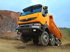 Renault Kerax 8x8 truck