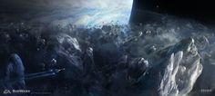 ArtStation - Mass Effect Andromeda - Early space exploration 01, Ben Lo