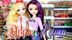 Custom Doll: After Ever After High Apple & Raven - Doll Crafts ...