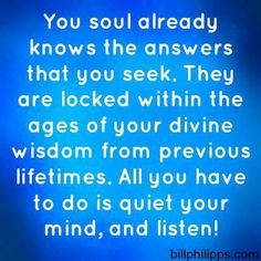 *** soul powerful...as it all comes together...we are never too old to learn.