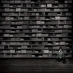 Zen librarian, via Flickr.
