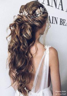 bröllopsfrisyrer långt hår bilder