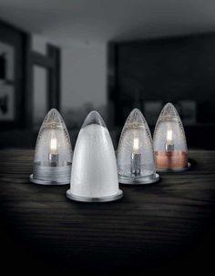 Επιτραπέζιο φωτιστικό - λαμπατέρ - πορτατίφ, μονόφωτο, σε μοντέρνο στυλ, γυάλινο. Διαθέτει διακόπτη. MILTON από την Trio Lighting. Διατίθεται σε 4 χρώματα: διαφανές, λευκό, χάλκινο αντικέ, ασημί αντικέ. #table #tablelight #tablelamp #tabledecor #decoratingideas #decoration #livingroom #livingroomideas