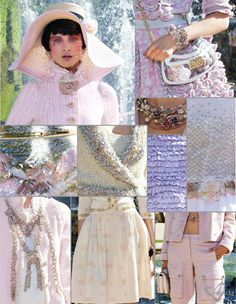 Chanel cruise collection 2012/2013 in Versailles. Theme: Marie Antoinette