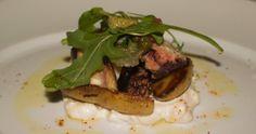 charred octupus at Chef's Club in Aspen