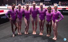 USA Gymnastics | USA sits atop team qualification rankings at 2015 World Championships