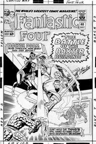 Fantastic Four 40, cover