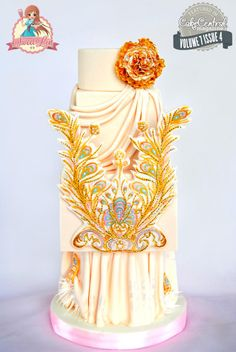 Guo Pei Dress Cake - Cake Central Magazine Fashion Issue  - Cake by SweetLin