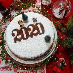 Vasilopita Cake, Christmas Bulbs, Merry Christmas, New Year's Cake, Greek Cooking, Christmas Cooking, Christmas Recipes, New Years Eve, Diy And Crafts