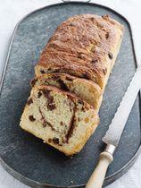 Bread Machine Cinnamon Raisin Bread :: Divine, but I sub in cranberries in stead of raisins ::