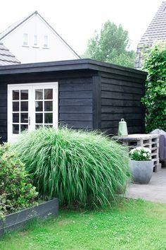 &SUUS | Weer blij met onze tuin CetaBever | Tuinhuis | ensuus.nl Garden Deco, Love Garden, Dream Garden, Home And Garden, Terrace Design, Patio Design, Garden Design, Backyard Studio, Backyard Sheds