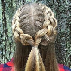 awesome 25 Super Cute Hairstyles for School –  Check more at http://newaylook.com/best-cute-hairstyles-for-school/