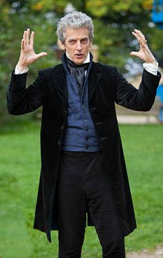 Peter Capaldi (Twelfth Doctor)... He looks so much like Jon Pertwee (3rd Doctor) now! More