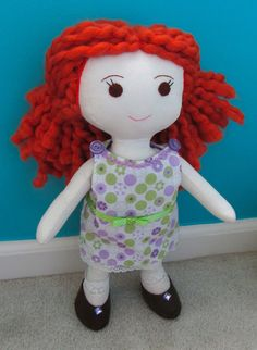 Wee Wonderfuls - Sewing Rag Dolls