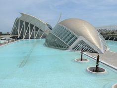 Ciudad de ciencias y artes / Valencia, Spain