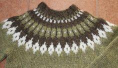 Icelandic wool sweater. Lopapeysa. Handmade. от KnittingArtLadies