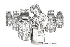 Doctor Who Dalek Coloring Pages | Doctor Who Vs The Daleks by ~Bungle0 on deviantART