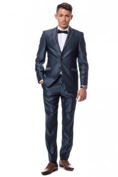 Navy tuxedo!