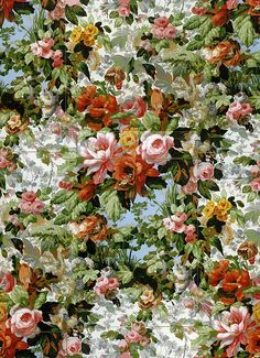 Philip Jacobs' floral fabric design