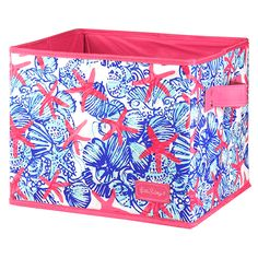 Lilly Pulitzer Storage Box - Medium  She She Shells from THE LUCKY KNOT
