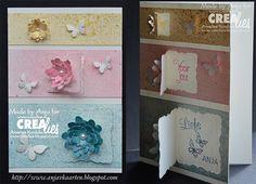 Made by Anja: https://www.crealies.nl/detail/1327393/15-06-25-anja.htm & http://www.crealies.blogspot.nl/2015/06/sweet-greeting.html Crealies items: Crea Nest Lies small no. 7 Set of 3 no. 4 Flowers 4 Bits & Pieces no. 14 Set of 3 no. 6 Butterflies 2