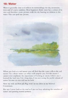 Anyone Can Paint Watercolours, Frank Clarke Shows How, Book 1