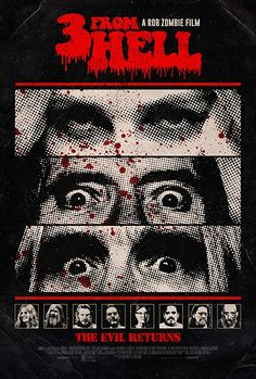 """Rob Zombie's Sequel From Hell"""" In Movie Theaters For A Three-Night Event Sep. Zombie's Sequel From Hell"""" In Movie Theaters For A Three-Night Event Sep. Rob Zombie Film, Zombie Movies, Horror Movies, Horror Art, Cult Movies, Slasher Movies, Action Movies, Jay Ryan, James Mcavoy"""