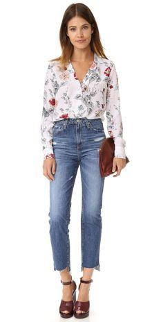 AG The Phoebe High Waisted Jeans | SHOPBOP SAVE UP TO 25% Use Code: GOBIG17