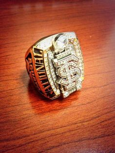 Football team got their rings the other day College Football Championship, Championship Rings, National Championship, Football Team, Florida State University, Florida State Seminoles, Sports Trophies, College Rings, Super Bowl Rings