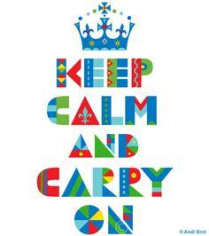 Keep Clam and Carry On. #keep_calm