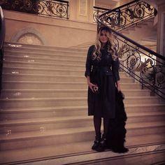 #вчера #лучшаяночьмоихканикул #avgивсеостальное На мне платье @hearts_of_4 шуба, клатч @hearts_of_4 ботинки #Balenciaga #Padgram