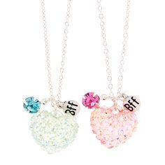 8bd23ecf4c04f Best Friends Forever Pastel Infinity Symbol Pendant Necklaces Set of ...