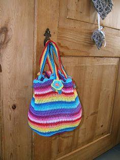 Kaatje Kip blog - gehaakte tas - crochet bag